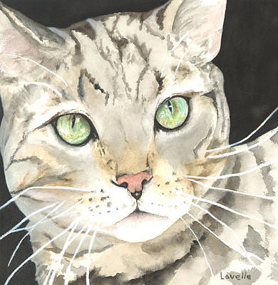 Emerald Eyes Art Print by Kimberly Lavelle