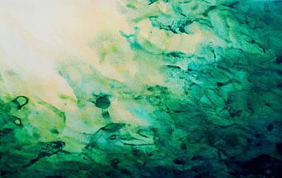 Emerald Fall Art Print