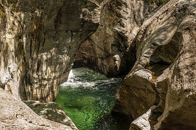 Photograph - Emerald Gorge by Paul Johnson