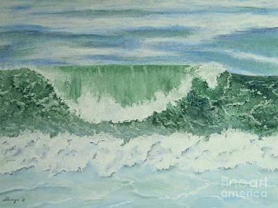 Emerald Green Art Print by Stanza Widen