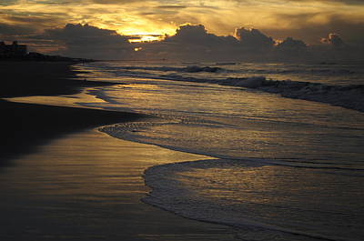 Photograph - Emerald Isle Sunrise by Bob Grabowski