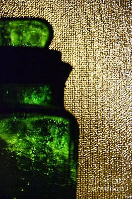 Photograph - Emerald Jar by Darla Wood