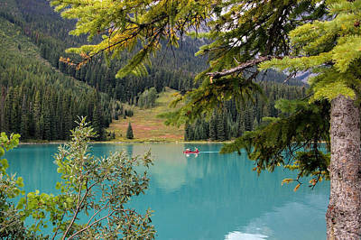 Emerald Lake British Columbia Art Print