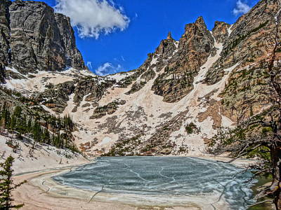 Photograph - Emerald Lake In Rocky Mountain National Park by Dan Sproul