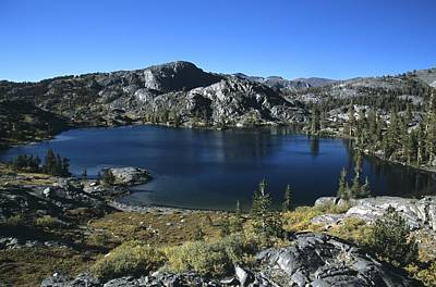 Photograph - Emerald Lake On John Muir Trail by Don Kreuter