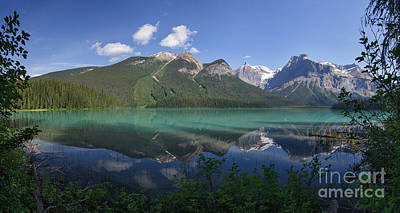 Photograph - Emerald Lake Panorama by Charles Kozierok