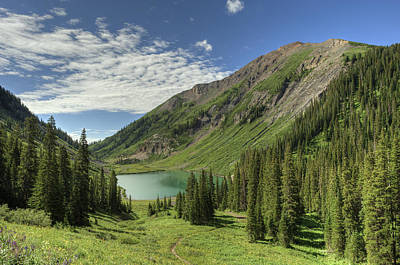 Mount Baldy Photograph - Emerald Lake Summer by Dusty Demerson