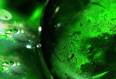 Photograph - Emerald Light by Jenny Rainbow