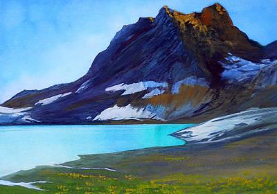 Robert Duvall Painting - Emerald Morning by Robert Duvall