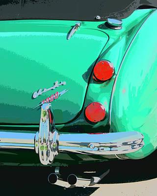 Austin Artist Photograph - Emerald Palm Springs by William Dey