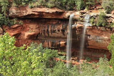 Photograph - Emerald Pool Falls by Darryl Wilkinson