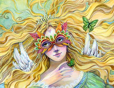 Painting - Emerald Princess by Sara Burrier