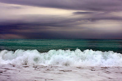 Photograph - Emerald Sea by Martina  Rathgens