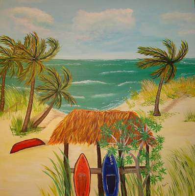 Painting - Emerald Sea by Patti Lauer