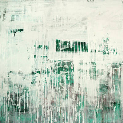 Painting - Emerald Surge C2014 by Paul Ashby