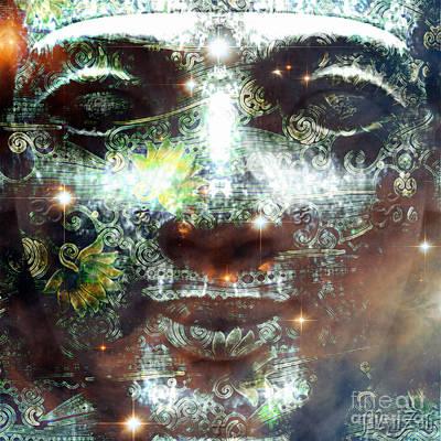 Digital Art - Emerald Tablet by Mynzah Osiris