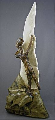 Sculpture - Emergence - The Ascent by Mario MJ Perron