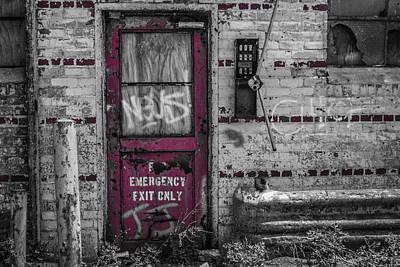 Emergency Exit Art Print