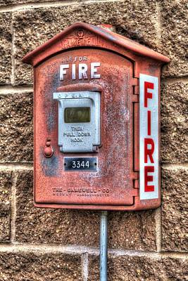 Photograph - Emergency Fire Box by Denyse Duhaime