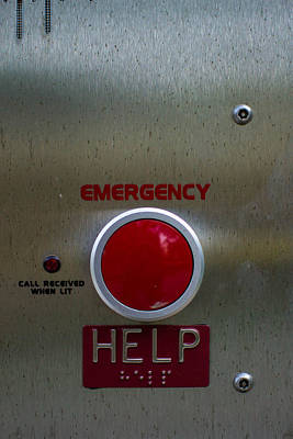 Photograph - Emergency Help by Nathan Hillis
