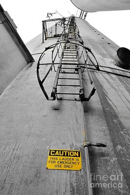 Photograph - Emergency Ladder Only by Lynda Dawson-Youngclaus