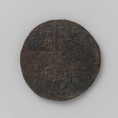 Maastricht Drawing - Emergency Mint Twenty Nickels, Siege Of Maastricht by Quint Lox