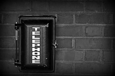 Photograph - Emergency Telephone Box by Tikvah's Hope