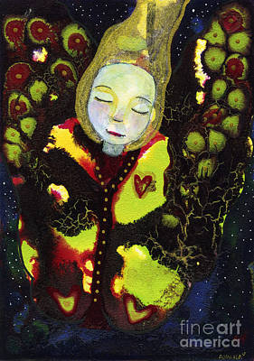 Painting - Emerging by AnaLisa Rutstein