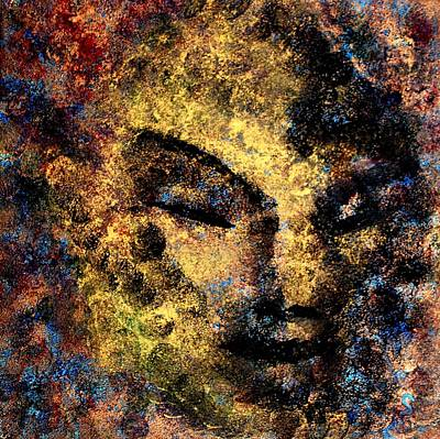 Painting - Emerging Buddha by Dorothy Berry-Lound