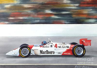 Indy Car Painting - Emerson by Robert Hooper