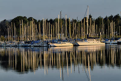 Photograph - Emeryville Marina by Robert Woodward