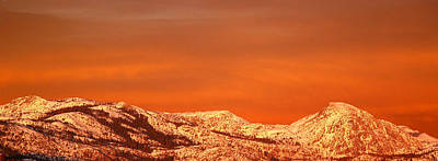 Snow Capped Mountains Wall Art - Photograph - Emigrant Gap by Bill Gallagher