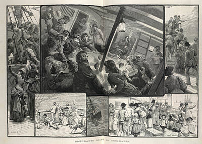 Emigration Print by British Library