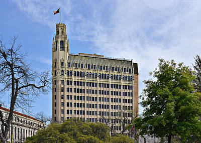 South Photograph - Emily Morgan Hotel San Antonio by Christine Till