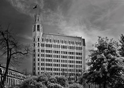 Emily Morgan Hotel San Antonio Tx Art Print by Christine Till