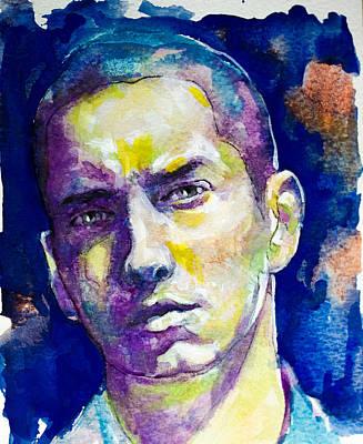 Eminem Art Print by Laur Iduc