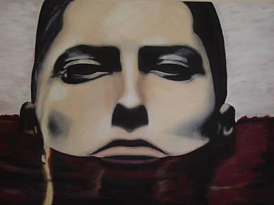 Grammy Winners Painting - Eminem Monsterlapse by Dean Stephens