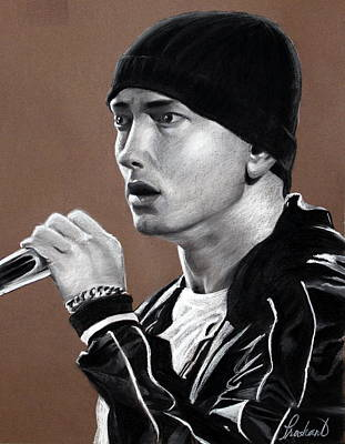 Slim Shady Painting - Eminem - Slimshady - Marshall Mathers - Portrait by Prashant Shah