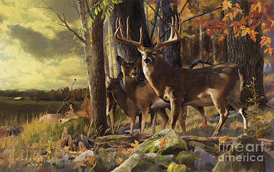 Painting - Eminence At The Forest Edge by Rob Corsetti