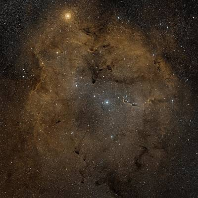 Emission Nebula Ic 1396 Art Print