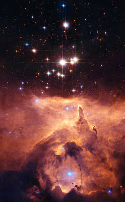 Emission Nebula Ngc6357 Art Print by Space Art Pictures