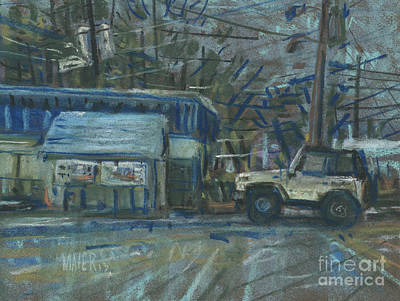 Emissions Testing Art Print by Donald Maier