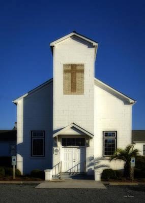 Photograph - Emma Anderson Chapel Topsail Island Nc by John Pagliuca