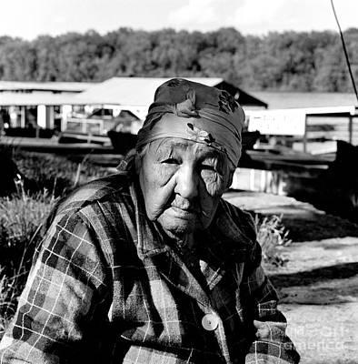Photograph - Emma Big Bear Mcgregor Iowa by Joan Liffring-Zug Bourret