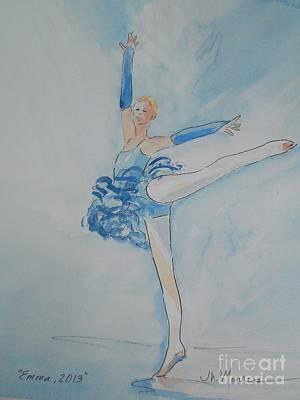 Emma Art Print by Jill Morris