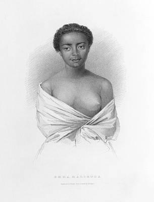 Depictions Of Nudity Photograph - Emma Malietoa by British Library
