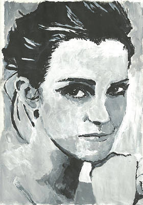 Painting - Emma Watson by Terence Leano