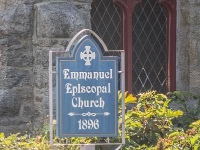 Photograph - Emmanuel Episcopal Church  by Robert Gross