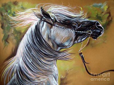 Emon Art Print by Angel  Tarantella