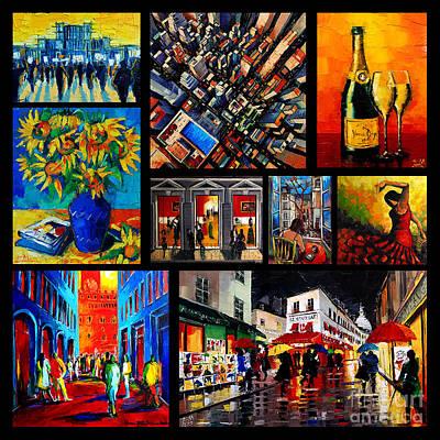 Collage Photograph - Emona Art Collage by Mona Edulesco